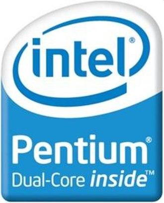 Pentium - Pentium Dual Core logo