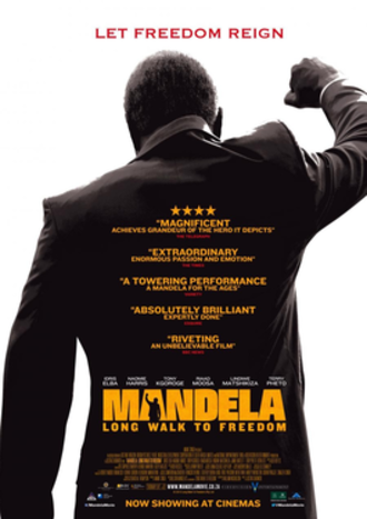 Mandela: Long Walk to Freedom - Theatrical release poster