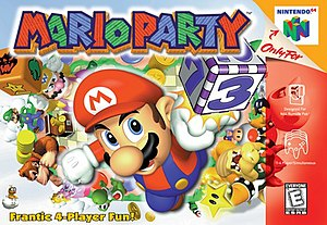 Mario Party (video game) - North American box art