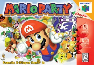 Mario Party (video game) - North American box art
