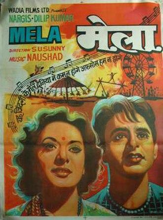 Mela (1948 film) - Poster