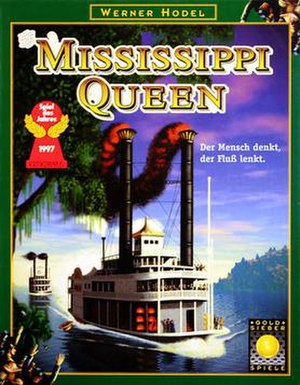 Mississippi Queen (board game) - Image: Mississippi Queen board game