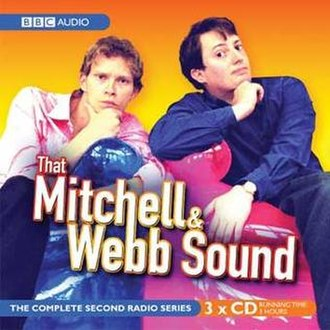 That Mitchell and Webb Sound - The cover of That Mitchell and Webb Sound Series 2, with Webb on the left and Mitchell on the right.