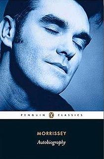 <i>Autobiography</i> (Morrissey) book by David Morrissey