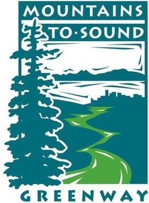 Mountains to Sound Greenway -  Mountains to Sound Greenway Logo