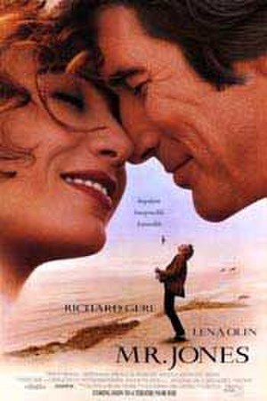 Mr. Jones (1993 film) - Theatrical release poster