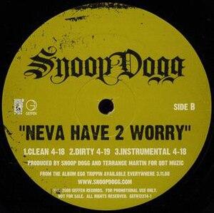 Neva Have 2 Worry - Image: Neva Have 2 Worry