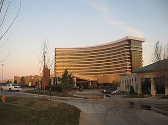Durant, Oklahoma - The north casino of the Choctaw Casino Resort