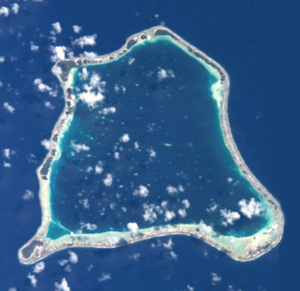 Nihiru - NASA picture of Nihiru Atoll.