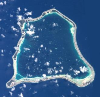 Nihiru - NASA picture of Nihiru Atoll.