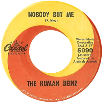 Nobody but Me (The Isley Brothers song) - Image: Nobody but Me