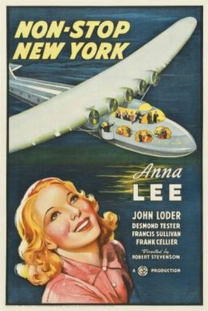 Non-Stop New York - Film poster