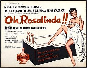 Oh... Rosalinda!! - theatrical release poster