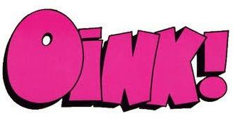 Oink! (comics) - Image: Oink! Comic logo