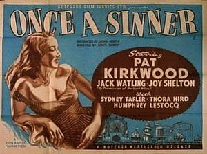 Once a Sinner - Image: Once a Sinner Film Poster