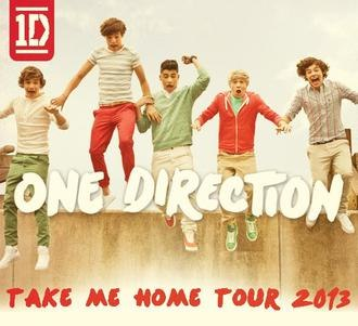 Take Me Home Tour (One Direction) - Image: One Direction 2013 World Tour image