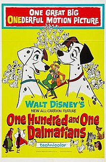 <i>One Hundred and One Dalmatians</i> 1961 American animated adventure film produced by Walt Disney