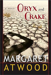 <i>Oryx and Crake</i> novel by Margaret Atwood