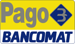 Bancomat (debit card) - Image: Pago Bancomat logo