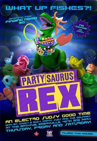 Partysaurus Rex - Image: Partysaurus Rex poster