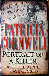 book by Patricia Cornwell