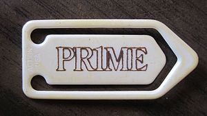 Prime Computer - Promotional paperclip