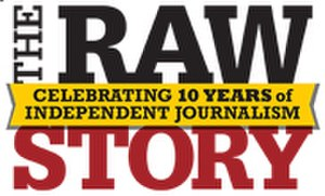 The Raw Story - Raw Story anniversary logo, 2014.