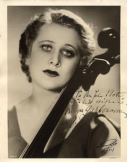 Raya Garbousova American musician