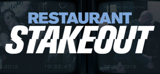 <i>Restaurant Stakeout</i> television series