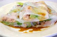 Rice noodle rollWikipedia