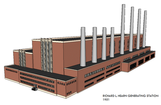 Hearn Generating Station decommissioned power station in Toronto, Canada