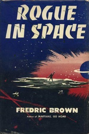Rogue in Space - Dust-jacket from the first edition