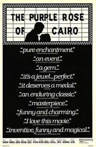 The Purple Rose of Cairo - Theatrical release poster