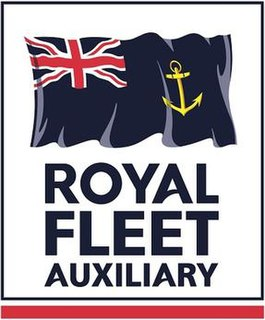 Royal Fleet Auxiliary Navel auxiliary fleet which supports the Royal Navy