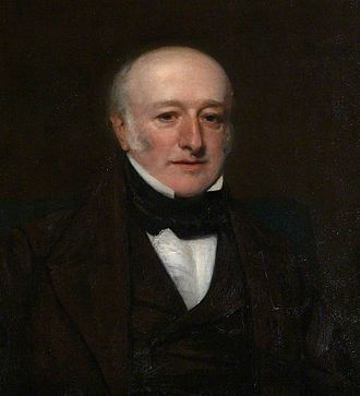 Samuel Amory - A portrait of Amory held in the collection at Knightshayes Court.