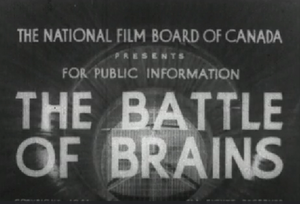 The Battle of Brains - Opening title