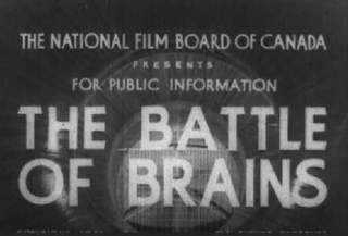<i>The Battle of Brains</i> 1941 film by Stanley Hawes