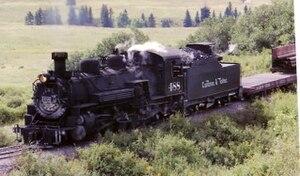 Rio Grande class K-36 - Image: Scurve