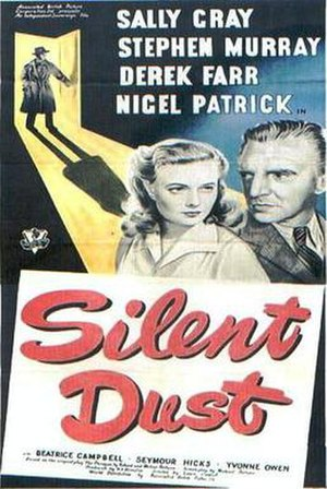 Silent Dust - Theatrical release poster