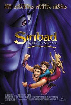 Sinbad: Legend of the Seven Seas - Theatrical release poster