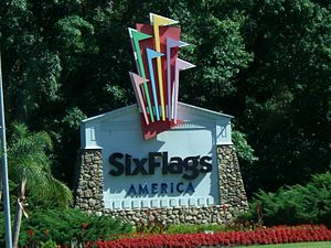 Six Flags America (Entrance)