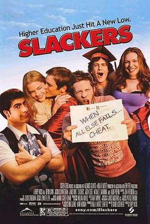 Slackers (film) - Promotional poster