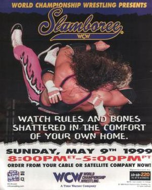 Slamboree - Promotional poster featuring Bret Hart and Diamond Dallas Page