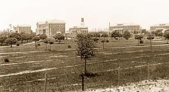 University of Southern Mississippi - The first five buildings erected on the University's Hattiesburg campus.