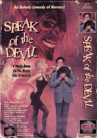 Speak of the Devil (1989 film) - VHS Cover Art