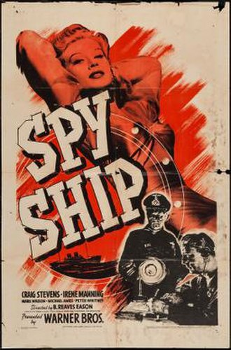 Spy Ship (film) - Theatrical release poster