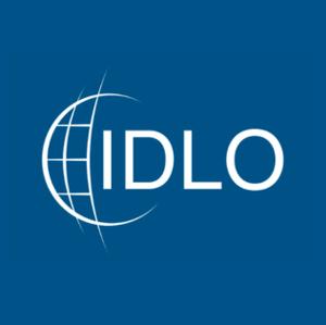 International Development Law Organization - Image: Square blue logo