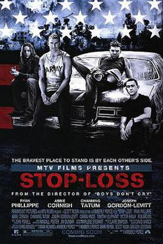 Stop-Loss (film) - Theatrical release poster