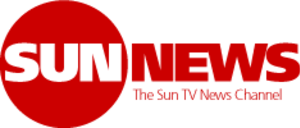 Sun News Network - Original pre-launch logo for the channel while under its tentative name, Sun TV News Channel. The logo was used in 2010 during its licensing campaign and was never employed on-air.