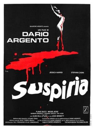 Suspiria - Original Italian theatrical release poster